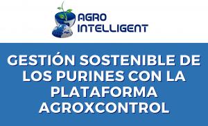 gestión sostenible del purín